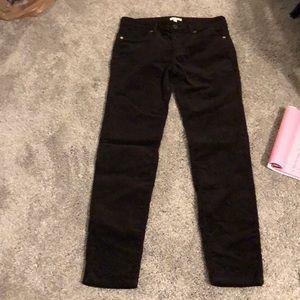 Pants - women's brown corduroy ankle pants